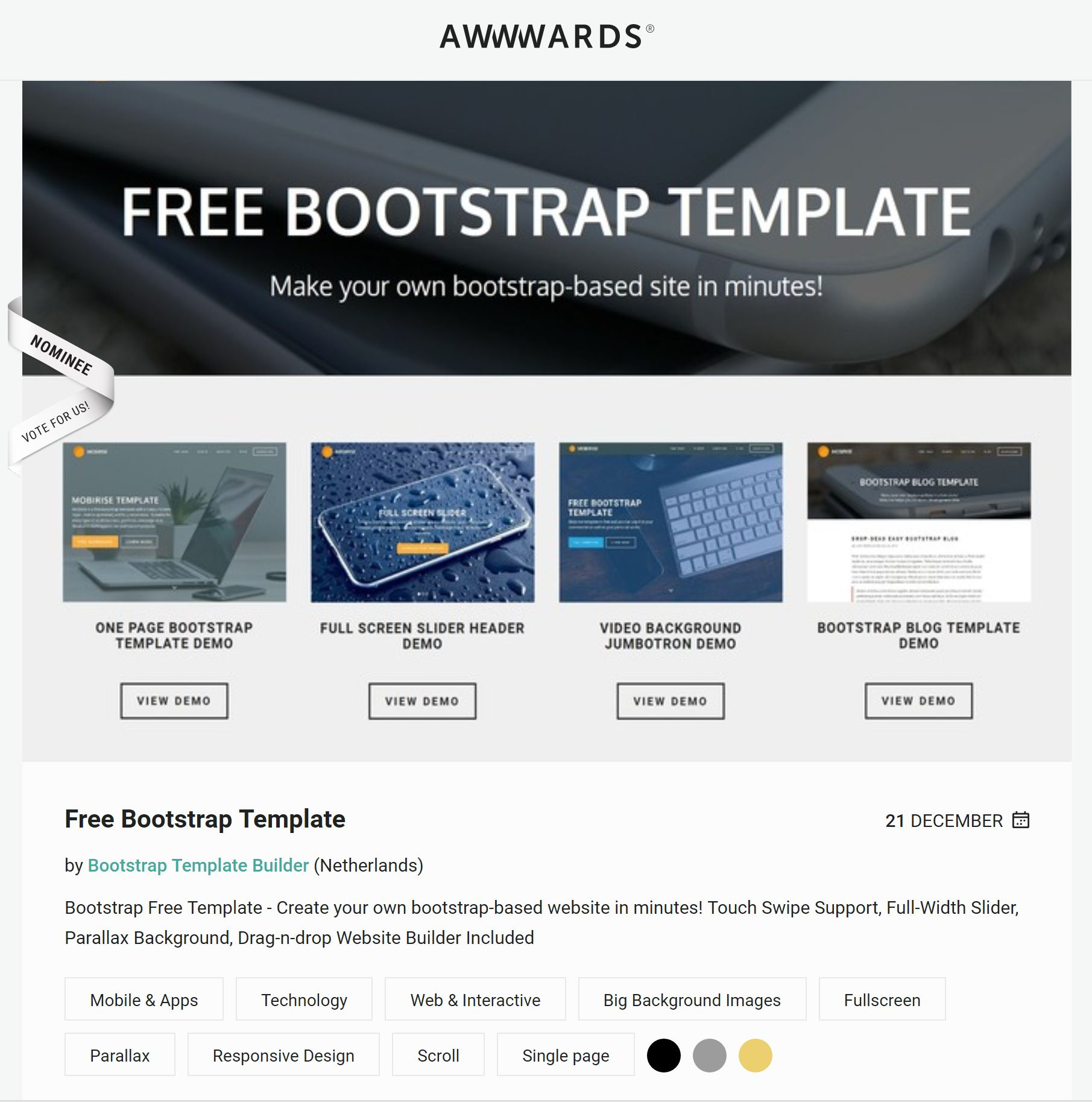 Best Free HTML Video Background Bootstrap Templates Of - Create web page template