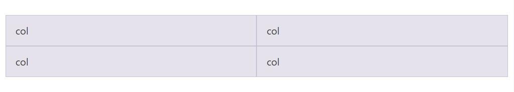 Identical width multi-row