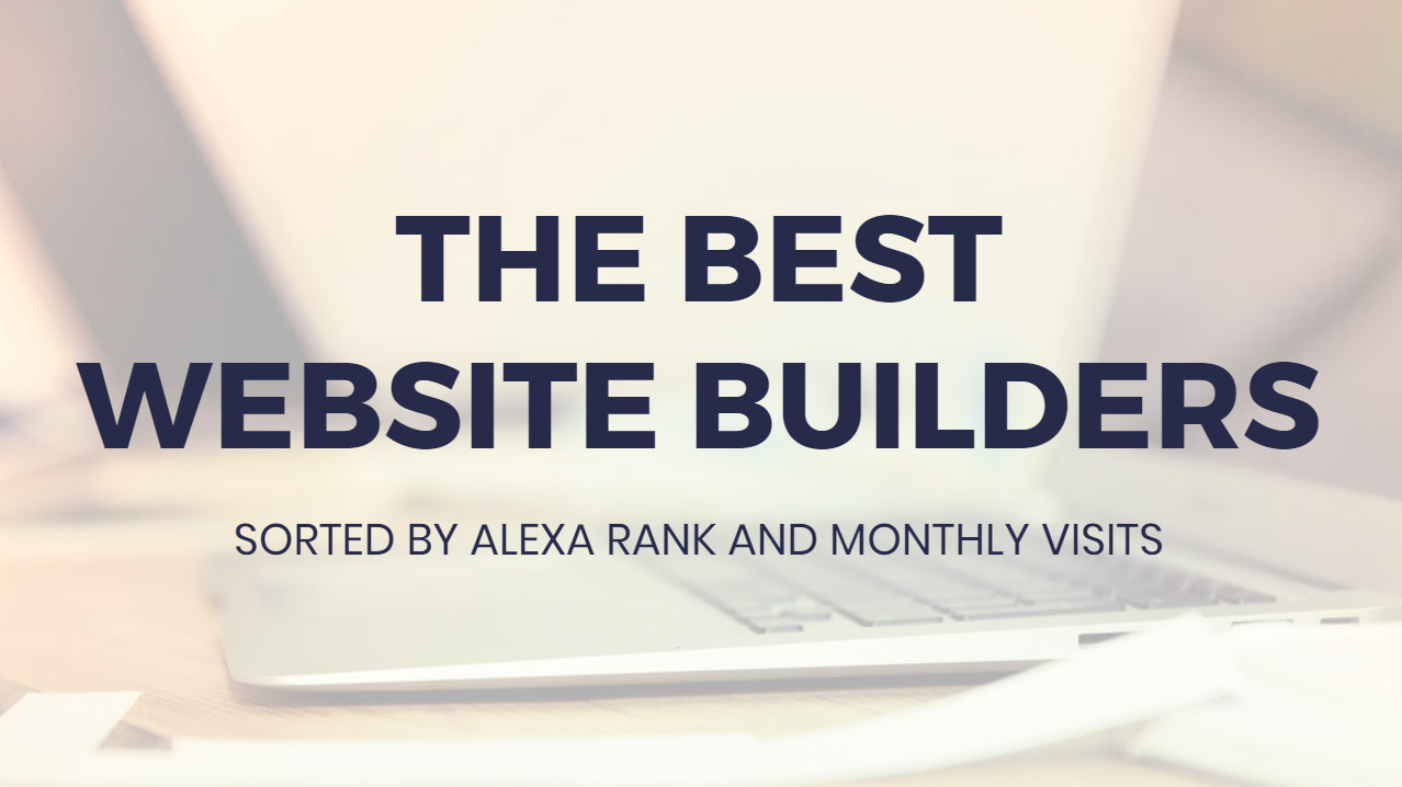 Most effective  Internet Site Builders