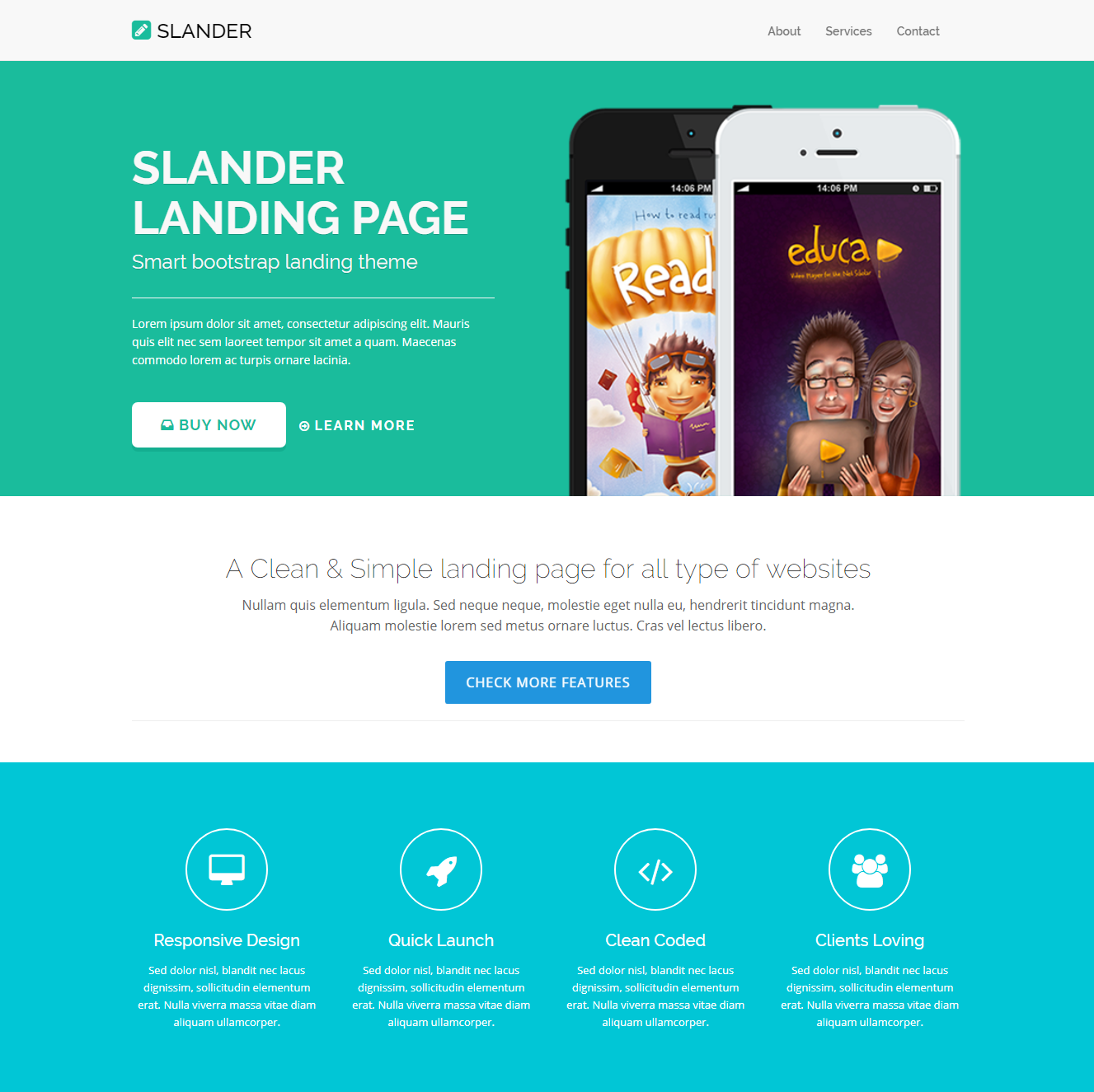 Best Free HTML Video Background Bootstrap Templates Of - Landing page html template