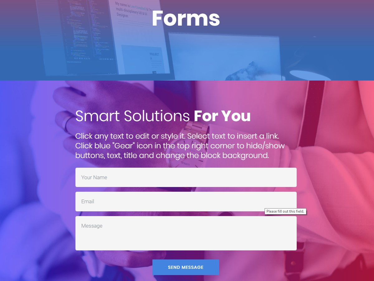 Mobile-friendly forms