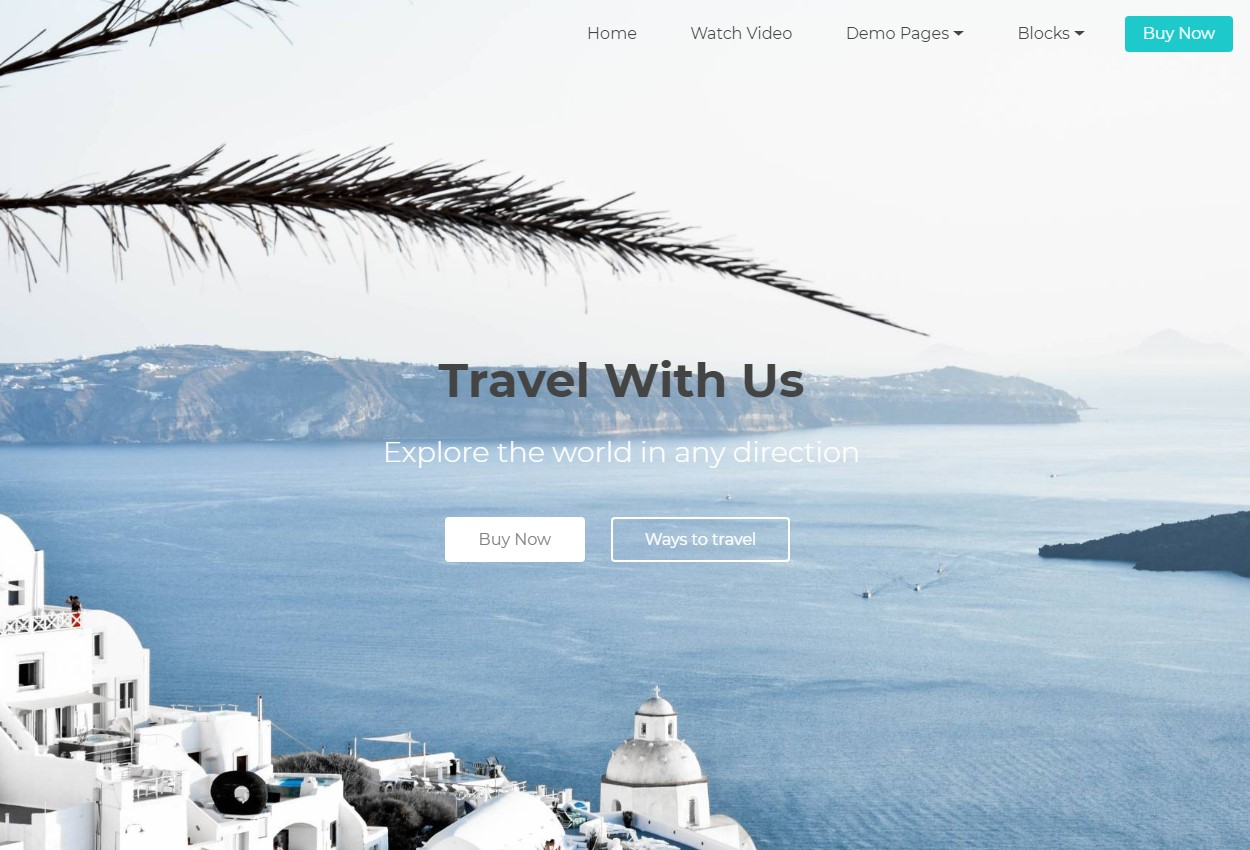 Mobile-friendly Travel Agency