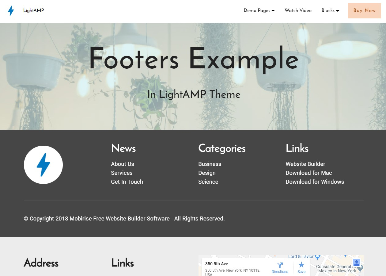 Bootstrap HTML Templates Free Download