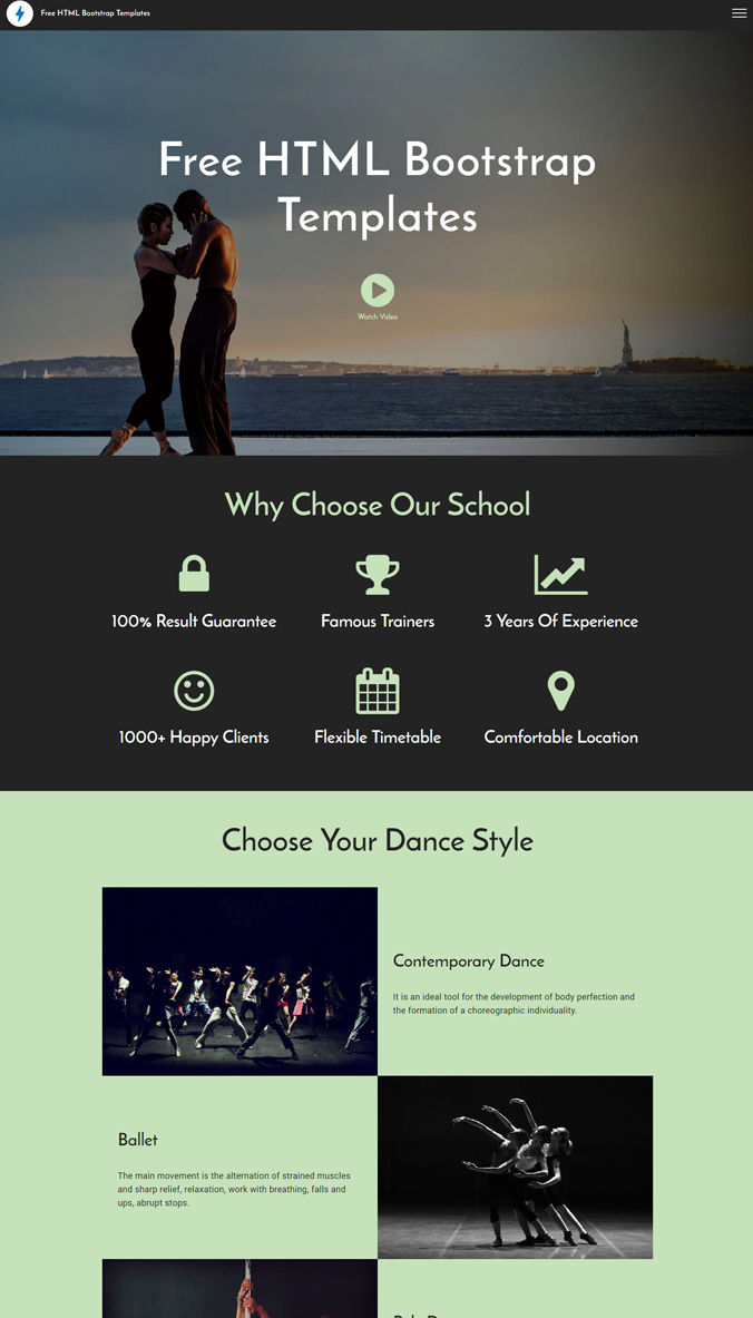 Website Best Template