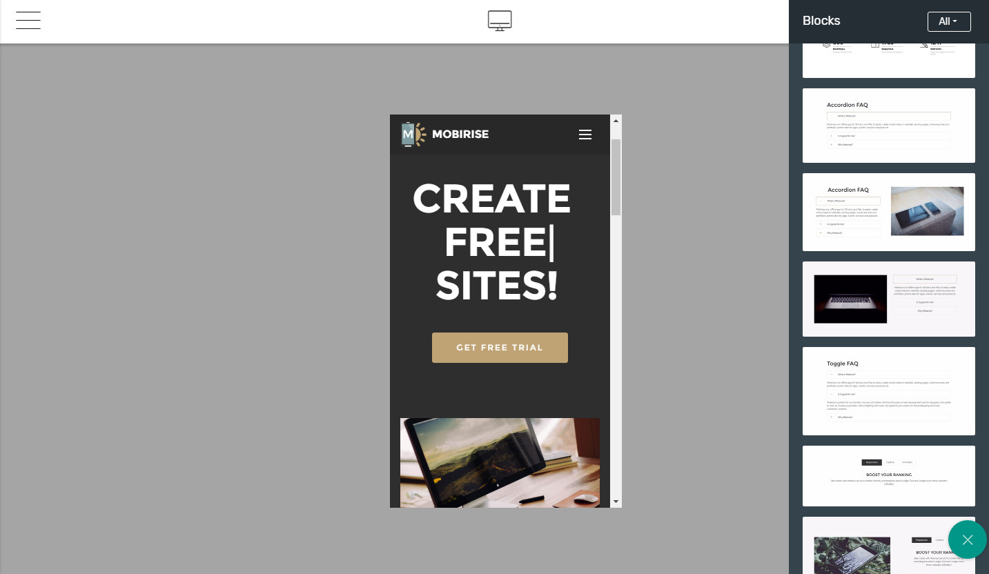 creating a simple website