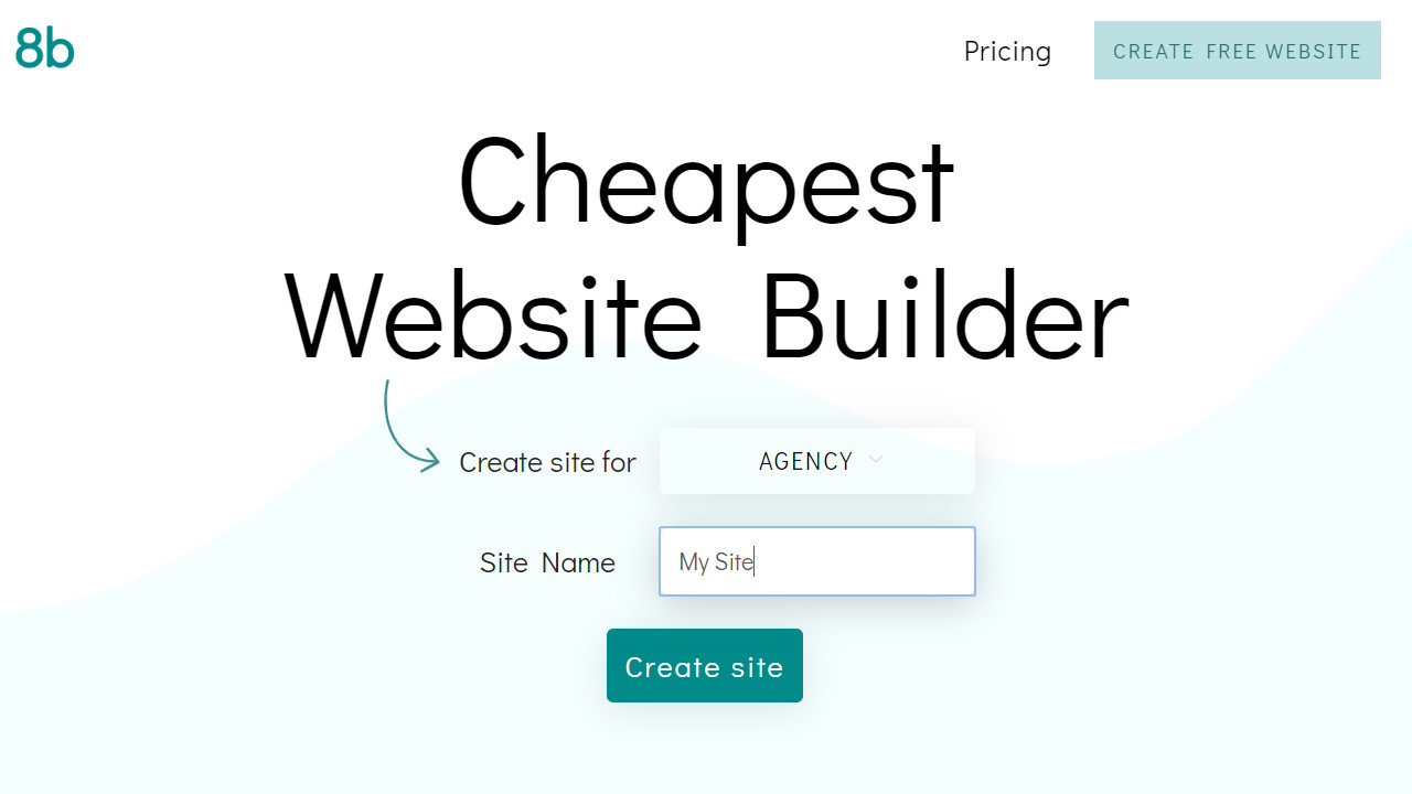 Cheap and Easy Website Builder